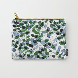 Synergy Blue and Green Carry-All Pouch