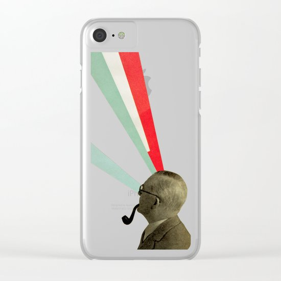 Mind-altering Clear iPhone Case