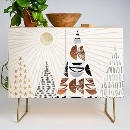 All The Magical Mountains Credenza
