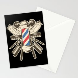 Barber Accessories | Beard Hairdresser Stationery Cards