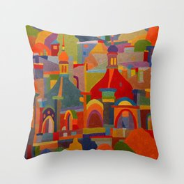 The Cathedrals Throw Pillow