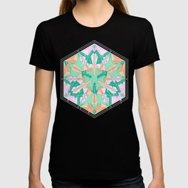 Drippy mandala T-shirt