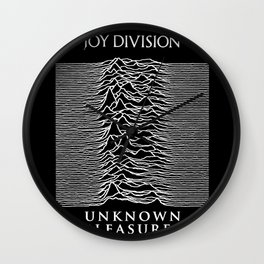 The Line Of Division Wall Clock
