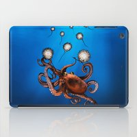 octopus iPad Cases featuring Octopus by Anna Shell