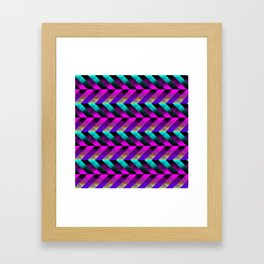 Dark Purple Framed Art Print