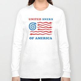 United Sneks Of America Long Sleeve T-shirt