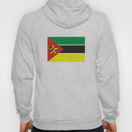 Mozambique country flag Hoody