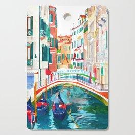 Canal in Venice Cutting Board
