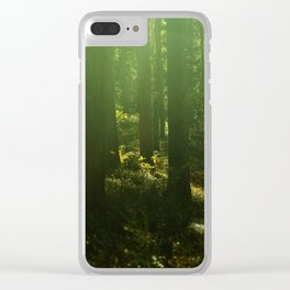 I tiptoe through the magic forest Clear iPhone Case