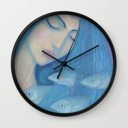 The Pearl Wall Clock