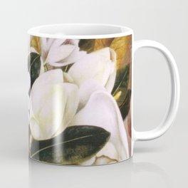 Magnolias Still Life by Frida Kahlo Coffee Mug