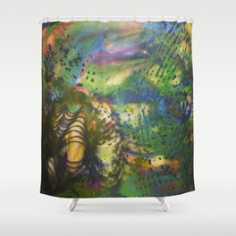 Depth of Color Shower Curtain