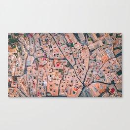 Spanish Maze Canvas Print