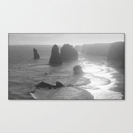 Sunset over the Twelve Apostles Canvas Print