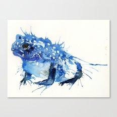 I Feel Blue Canvas Print