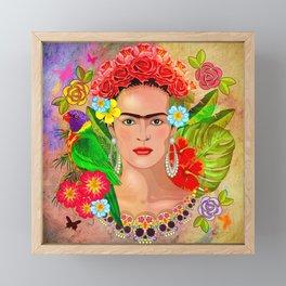 Frida Kahlo 3 Framed Mini Art Print
