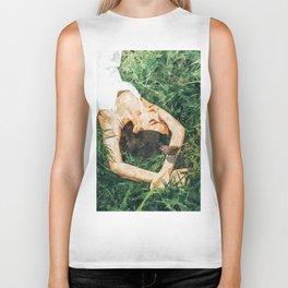 Jungle Vacay #painting #portrait Biker Tank