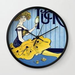 Vintage poster - Puck Wall Clock