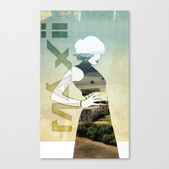 Maxii girl 02 Canvas Print