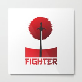 The Fighter Metal Print