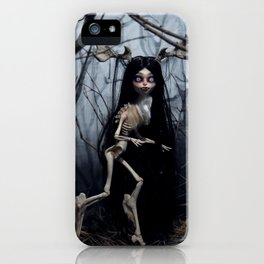 Wendigo in the Woods iPhone Case
