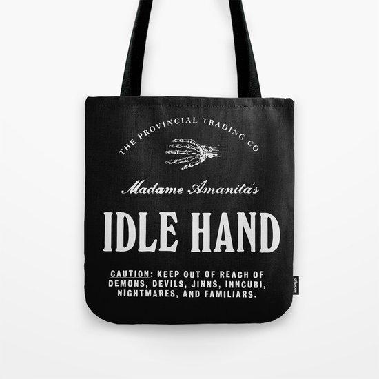 Idle Hand Tote Bag
