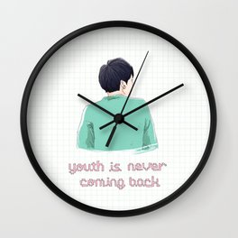 YOUTH IS Wall Clock