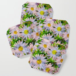 DAISEY MADNESS ABSTRACT  Coaster
