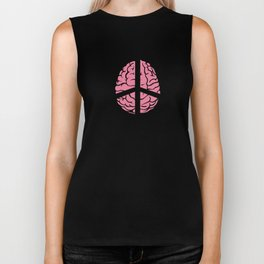 Spread the Love with this Peace of mind Tshirt Design Peace of mind Biker Tank