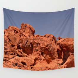 Red Valley III Wall Tapestry