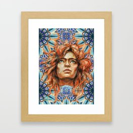 Intelligence, freedom and individuality Framed Art Print