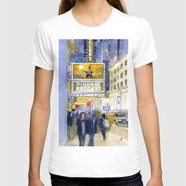 Richard Rodgers - NYC - Broadway - Theater District T-shirt