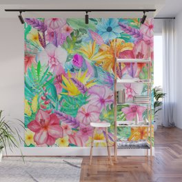 beauty floral i Wall Mural