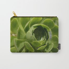 Spiderweb in a Flower Carry-All Pouch