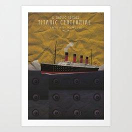 Titanic Centennial Art Print