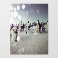 Melting Trees Canvas Print