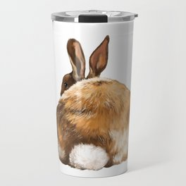 Rabbit Butt Travel Mug