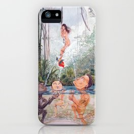 The game of the river iPhone Case