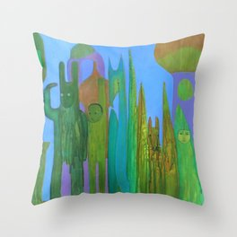 Farewell to Thee Throw Pillow