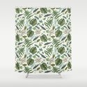 Green leaves pattern by smalldrawing