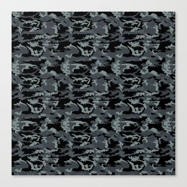 Camouflage Pattern Canvas Print