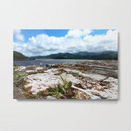 Wall Blur | Pull Focus Seaside Photography Metal Print