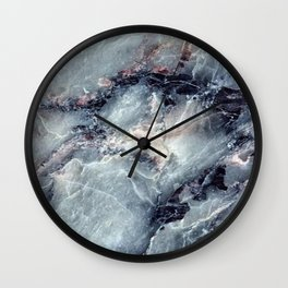 Blue Bayou Marble Wall Clock