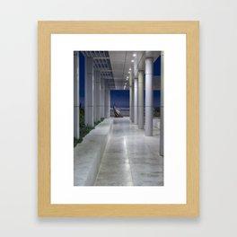 Cardinale Seduto at the Getty Framed Art Print