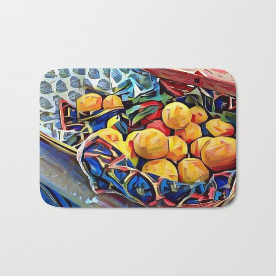 LEMON ZEST Bath Mat