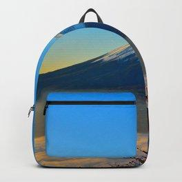 Mount Fuji Japan Backpack