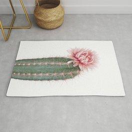 Pink Cactus Flower Rug