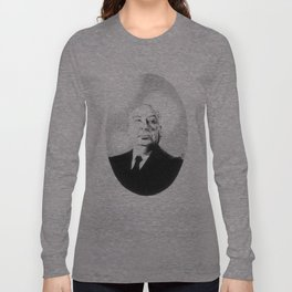 Sir Alfred Hitchcock Long Sleeve T-shirt