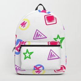 Shape Pattern Backpack