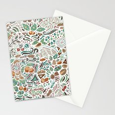 Nuts And Nature Stationery Cards
